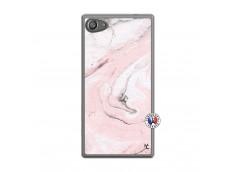 Coque Sony Xperia Z5 Compact Marbre Rose Translu