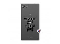 Coque Sony Xperia Z5 Compact Monsieur Mauvais Perdant