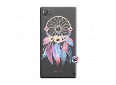 Coque Sony Xperia Z5 Compact Multicolor Watercolor Floral Dreamcatcher