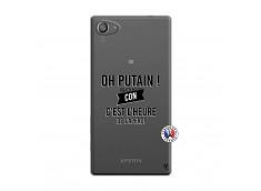 Coque Sony Xperia Z5 Compact Oh Putain C Est L Heure De L Apero