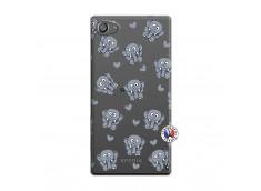 Coque Sony Xperia Z5 Compact Petits Elephants
