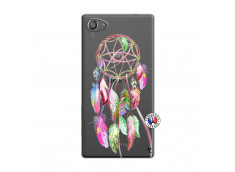 Coque Sony Xperia Z5 Compact Pink Painted Dreamcatcher