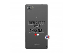 Coque Sony Xperia Z5 Compact Rien A Foot Allez Arsenal
