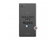 Coque Sony Xperia Z5 Compact Rien A Foot Allez Madrid