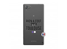 Coque Sony Xperia Z5 Compact Rien A Foot Allez Toulouse