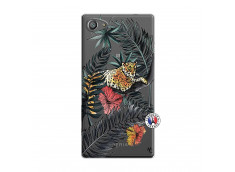 Coque Sony Xperia Z5 Compact Leopard Tree
