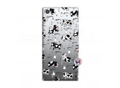 Coque Sony Xperia Z5 Premium Cow Pattern