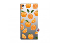 Coque Sony Xperia Z5 Premium Orange Gina