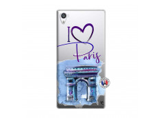 Coque Sony Xperia Z5 Premium I Love Paris Arc Triomphe