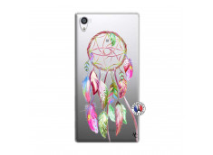 Coque Sony Xperia Z5 Premium Pink Painted Dreamcatcher