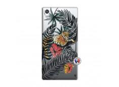 Coque Sony Xperia Z5 Premium Leopard Tree