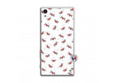 Coque Sony Xperia Z5 Cartoon Heart Translu