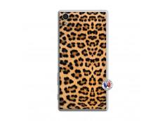 Coque Sony Xperia Z5 Leopard Style Translu