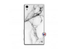 Coque Sony Xperia Z5 White Marble Translu