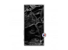 Coque Sony Xperia Z5 Black Marble Translu