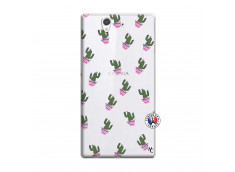 Coque Sony Xperia Z Cactus Pattern