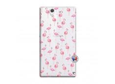 Coque Sony Xperia Z Flamingo