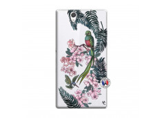 Coque Sony Xperia Z Flower Birds
