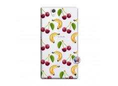 Coque Sony Xperia Z Hey Cherry, j'ai la Banane