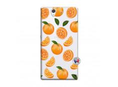 Coque Sony Xperia Z Orange Gina
