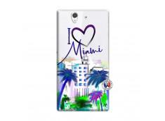 Coque Sony Xperia Z I Love Miami