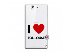 Coque Sony Xperia Z I Love Toulouse