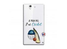 Coque Sony Xperia Z Je peux pas j'ai cricket