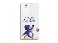 Coque Sony Xperia Z Je peux pas j'ai Judo