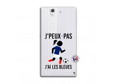 Coque Sony Xperia Z Je Peux Pas J Ai Les Bleues Maillot