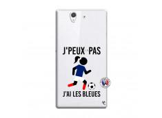 Coque Sony Xperia Z Je Peux Pas J Ai Les Bleues