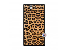 Coque Sony Xperia Z Leopard Style Noir