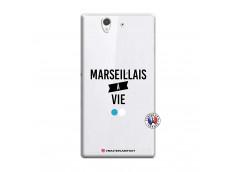 Coque Sony Xperia Z Marseillais à Vie