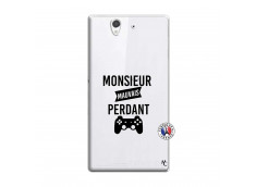 Coque Sony Xperia Z Monsieur Mauvais Perdant