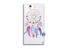 Coque Sony Xperia Z Multicolor Watercolor Floral Dreamcatcher