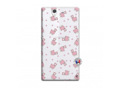 Coque Sony Xperia Z Petits Moutons