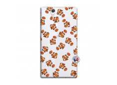 Coque Sony Xperia Z Petits Poissons Clown