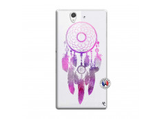 Coque Sony Xperia Z Purple Dreamcatcher