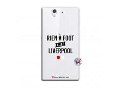 Coque Sony Xperia Z Rien A Foot Allez Liverpool