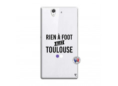 Coque Sony Xperia Z Rien A Foot Allez Toulouse
