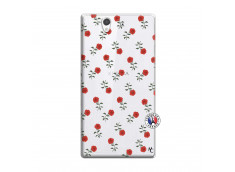 Coque Sony Xperia Z Rose Pattern