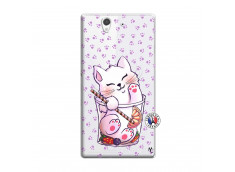 Coque Sony Xperia Z Smoothie Cat