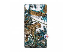 Coque Sony Xperia Z Leopard Jungle