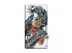 Coque Sony Xperia Z Leopard Tree