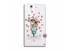 Coque Sony Xperia Z Puppies Love