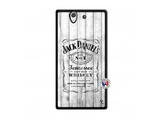 Coque Sony Xperia Z White Old Jack Noir