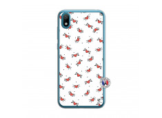 Coque Huawei Y5 2019 Cartoon Heart Translu