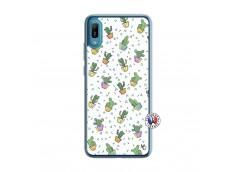 Coque Huawei Y6 2019 Le Monde Entier est un Cactus Translu
