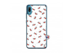 Coque Huawei Y6 2019 Cartoon Heart Translu
