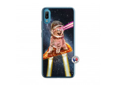 Coque Huawei Y6 2019 Cat Pizza Translu
