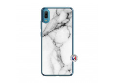 Coque Huawei Y6 2019 White Marble Translu